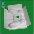 High quality Custom biodegradable Disposable molded paper pulp product packaging 5