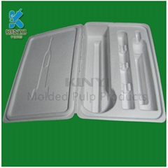 OEM compostable custom pulp packaging