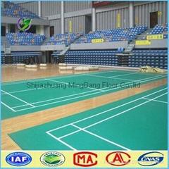 Lychee Pattern PVC Sports Flooring for