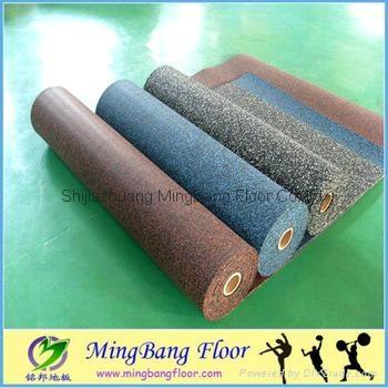 Fitness equipment Crossfit Gym rubber flooring mat 4