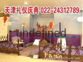 天津圣诞商场装饰天津圣诞节装饰图片装饰品有哪些圣诞节装饰方案 1