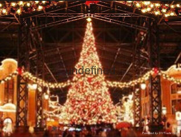 天津圣诞商场装饰天津圣诞节装饰图片装饰品有哪些圣诞节装饰方案 4