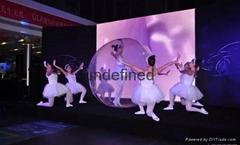 天津年会服务会场场地布置年会策划方案礼仪开场水晶芭蕾演出