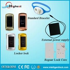 High Quality Newest card unlock RFID cabinet lock