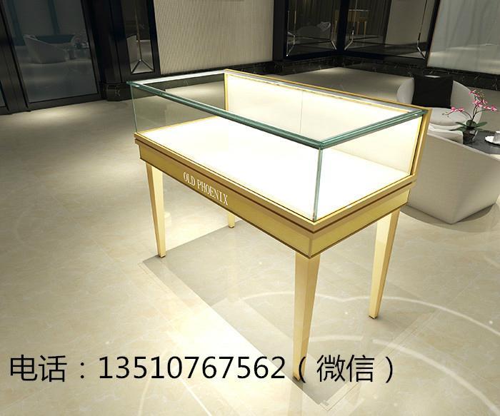 高檔簡潔珠寶展示櫃 3