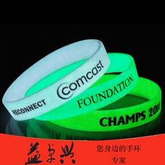 深圳工厂直销硅胶手环男女通用矽胶手腕带