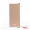DOCA D606 5000mAh  External Battery Power Bank For Mobile Phone