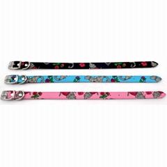 Floral Designs Little dog Collars