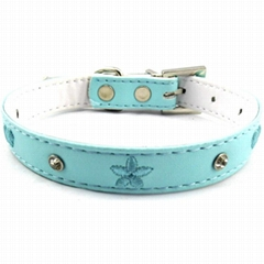 Embroidery dog collars