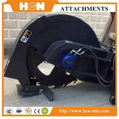 Rock Saw Attachments For Skid Steer Loader