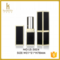2016 cosmetic packaging of empty square lipstick tube 1
