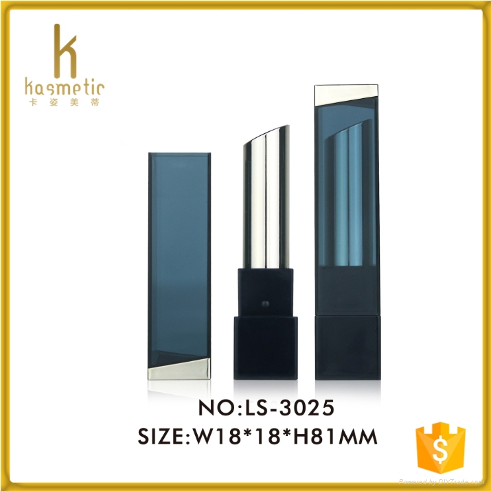 2016 cosmetic packaging of empty square lipstick tube 3