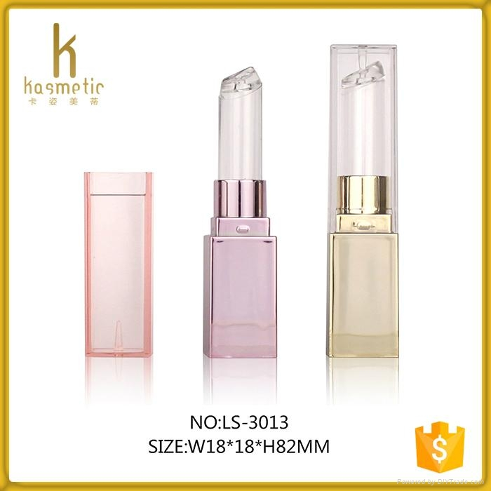 2016 cosmetic packaging of empty square lipstick tube 4