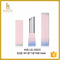2016 cosmetic packaging of empty square lipstick tube 5