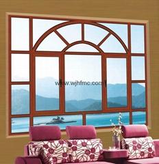断桥铝合金窗组合窗 家庭复合窗