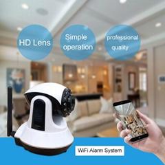 wifi 家用智能安全防盗报警器