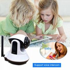 wifi 无线视频监家用防盗报警器