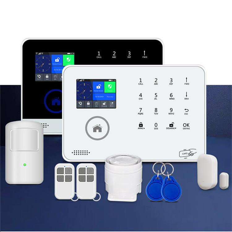 APP control supported wireless WIFI GSM 3G home security alarm system 1