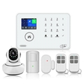 APP control supported wireless WIFI GSM 3G home security alarm system 2