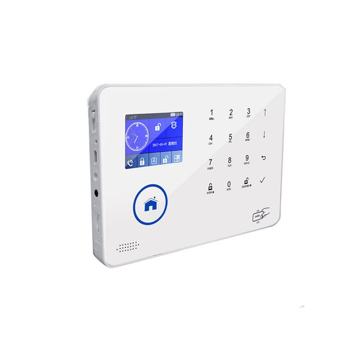 APP control supported wireless WIFI GSM 3G home security alarm system 3