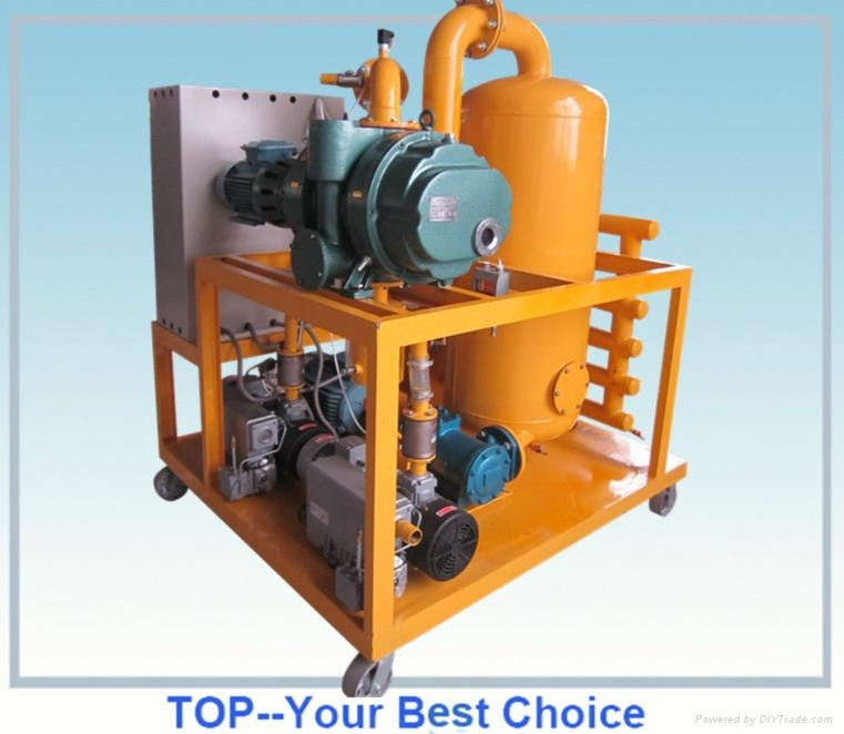 Water and Sludge Removal Deterioration Vacuum Transformer Oil Filter Machine 1