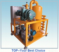 Water and Sludge Removal Deterioration Vacuum Transformer Oil Filter Machine