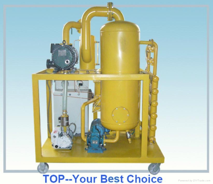 Water and Sludge Removal Deterioration Vacuum Transformer Oil Filter Machine 4