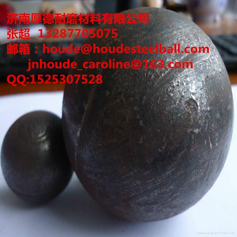 forged  grinding steel ball 5