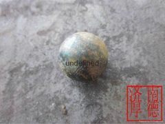 forged  grinding steel ball for ball mill in mines cement plant power plant
