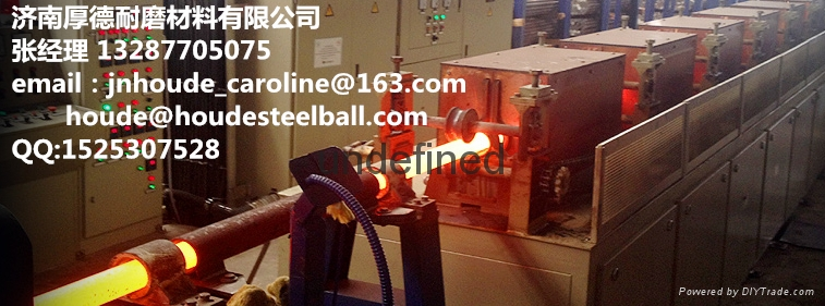 60Mn 3inch forged grinding steel ball for copper mine  2