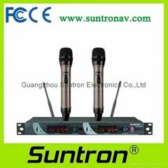 SUNTRON U601TD/U602TD True Diversity Wireless Microphone