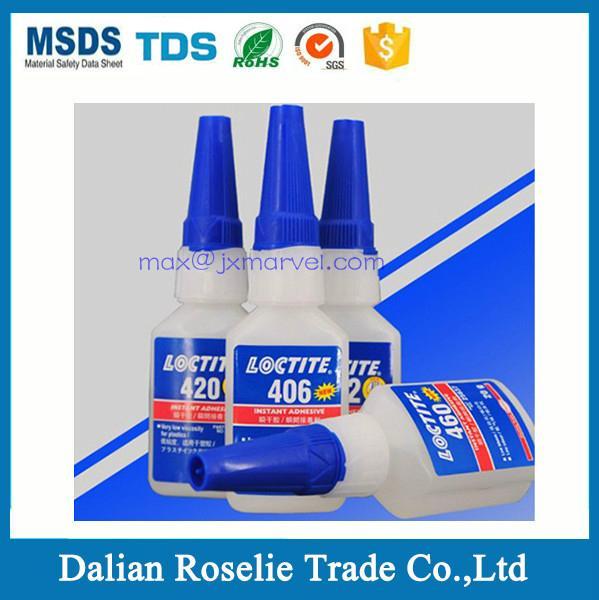 Instant adhesive metal super glue henkel loctite 403 406 410 414 415 460 495 496 2