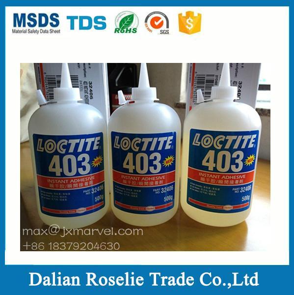 Instant adhesive metal super glue henkel loctite 403 406 410 414 415 460 495 496 3