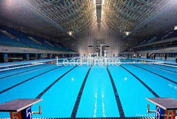 Galvanized Sturdy Quality Steel Space Frame Swimming Pool Roofing Lf China