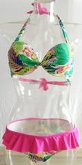 2016 Wholesale Women Sexy Cheeky Brazilian Reversible Bikini Swimwear