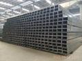 welded erw steel rectangle tube in China
