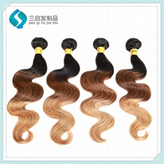 100% Remy human hair India body wave