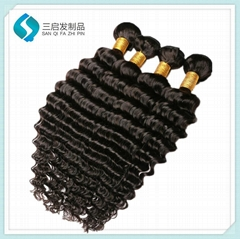 10a Grade Deep Wave Hair Weft
