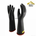 electrical insulating safety gloves