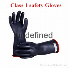 latex insulating safety gloves