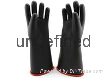 rubber electrical insulating gloves