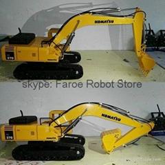 New design 1:12 Hydraulic Excavator Empty Version