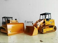 1:12 Scale hydraulic bulldozer model