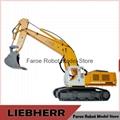 1:12 scale RC hydraulic Liebherr excavator model RTR version