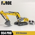 CE certified 1/12 RC model Hydraulic excavator 954 PRO empty version