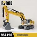 CE certified 1/12 RC model Hydraulic excavator 954 PRO empty version