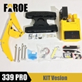 CE certified 1:12 Rc hydraulic Excavator model 339PRO KIT empty version