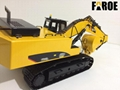 CE certified 1:12 Rc hydraulic Excavator model 339PRO RTR ready to run