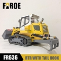 CE certified 1/12 RC Hydraulic Loader model FR636 with tail hook
