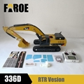 CE certified 1/12RC hydraulic Excavator Model 336D  RTR Version